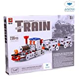Lucid Self Assembling Toy Metal Train