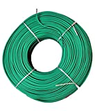 #4: KC-Cab 1 Sq mm Copper PVC Insulated Wire 90 meter coil (Green) - Best for Home use