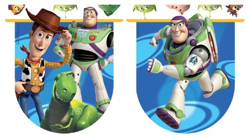 Disney Amscan Toy Story 3 Pennant Banner (Toy Story 1. Geburtstag)