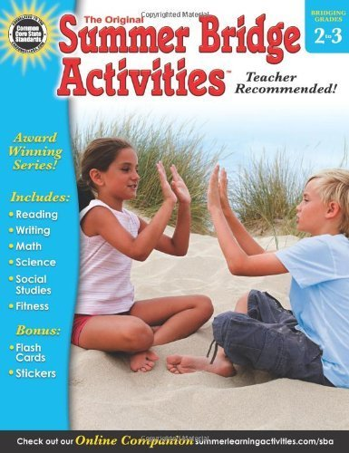 Summer Bridge Activities(r), Grades 2 - 3 by Summer Bridge Activities (Compiler, Editor), Rainbow Bridge Publishing (Compiler) (2-Jan-2013) Paperback