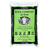 1 x Bag of Dalefoot fine wool seed compost peat free: 12 litre