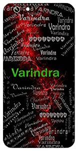Varindra (Lord Of All) Name & Sign Printed All over customize & Personalized!! Protective back cover for your Smart Phone : Moto G-4