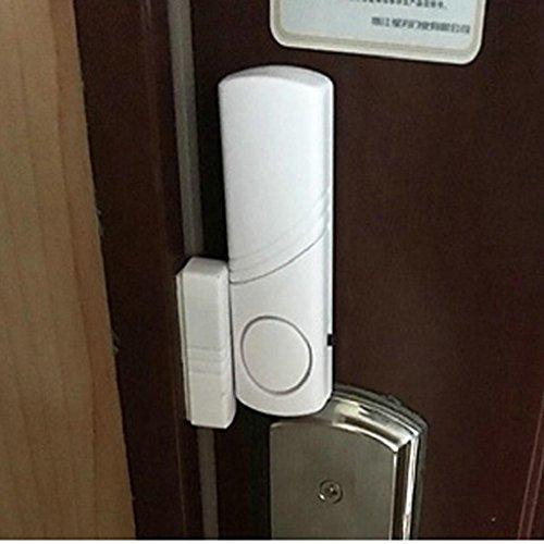 QUICKLYLY Alarma Puertas y Ventanas, Sistema de Alarma con Sensor de Movimiento,...