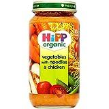 Légumes Hipp organiques avec des nouilles et poulet 10mois + (250g) - Paquet de 2