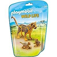 Playmobil Vida Salvaje - Leopardo con Crías (6940)