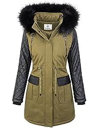 Veste d hiver pour Femme Parka Outdoor Jacket Vestes d hiver D-348 a7a12206f35b