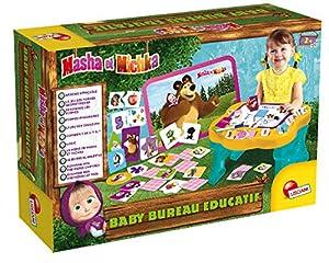 Lisciani - Juegos Masha et Michka Baby Office Educatif, FR78042, Multicolor