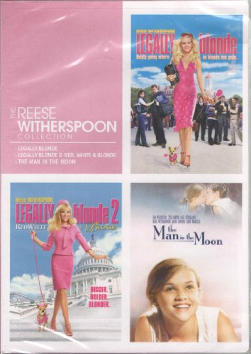 The Reese Witherspoon Collection: Legally Blonde / Legally Blonde 2: Red, White and Blonde / The Man in the Moon