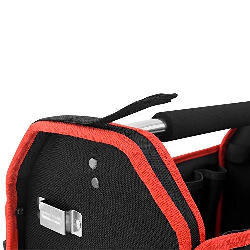 Werkzeugtasche Montagetasche Werkzeugbox Werkzeugkasten mit Schultergurt – XL – Modellauswahl - 4