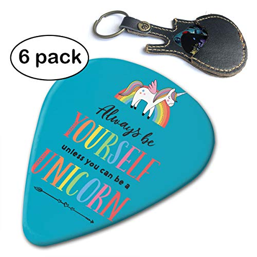 Picks Unicorn Abstract Art Cool Guitar Picks for Your Electric, Acoustic
