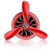 Cogeek Air Force N ° 3Sortie de climatisation Mini ventilateur d'avion rotatif aromathérapie Parfum Clip