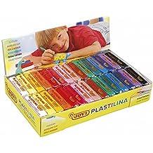 Jovi 729925 - Pack de 30 plastilinas, 50 gr, multicolor