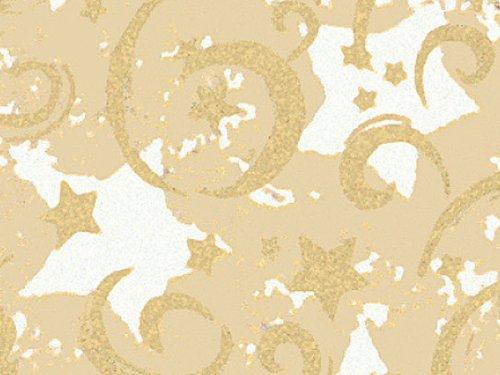 Gold Stars & Swirls 30