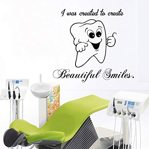Tianpengyuanshuai Clínica Dental Etiqueta de la Pared Mural diseño de la habitación Etiqueta...