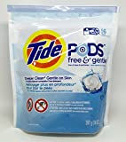 Tide Pods Free & Gentle - Free Of Dyes &...