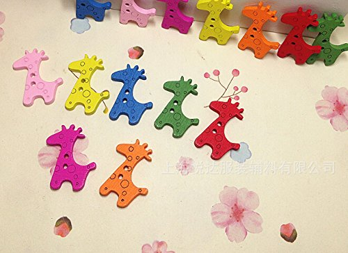 safeinu-shaped-painted-hole-wooden-buttons-pack-of-25pcs