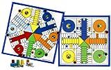 Aquamarine Games - Parchís para 4 y 6 jugadores, juego de mesa...