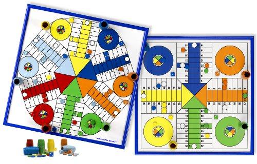 Aquamarine Games - Parchís para 4 y 6 Jugadores