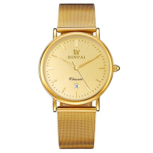 In pelle cinturino orologio al quarzo/Studente impermeabile sport orologio/ luminoso moda maschile orologio-A