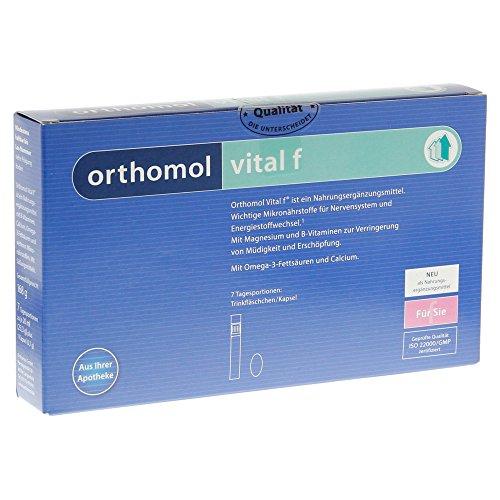 Orthomol vital f Fläschchen/Kapseln, 7 days Portionen
