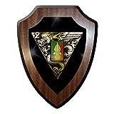 Wappenschild / Wandschild / Wappen - 2e régiment de parachutistes Fremdenlegion Frankreich Fallschirmjäger Abzeichen Emblem #10025 w