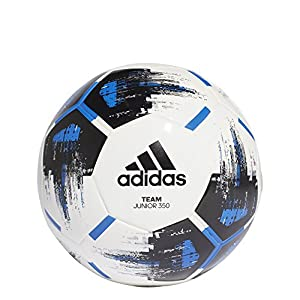 adidas Team J350 Trainingsball- Mehrfarbig (white/black/blue/silv), Gr. 4
