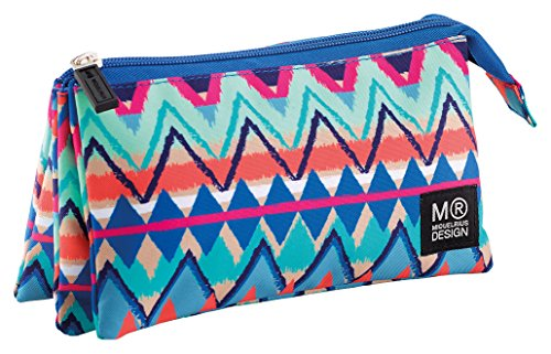 Miquelrius 16692 – Portatodo triple, 225 x 115 x 20 mm, multicolor