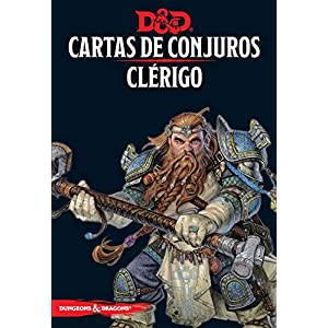 D&D Dungeons & Dragons Cartas de Conjuros Clerigo