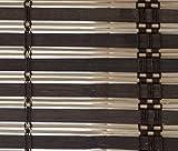 VERDELOOK, Tapparella In Listelli Di Bamboo Arrotolamento A Carrucola Con Supporti In Legno. Ganci Di Ancoraggio In Metallo. Listelli Da Ø 20 Mm. Circa