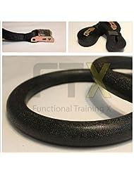 Gym Olympic Gimnasia Anillos Turn anillos Gimnasia Crossfit Fitness + cuerda