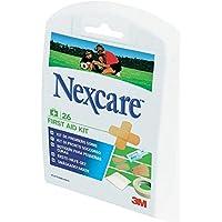 Nexcare NFK001 Erste-Hilfe-Set, 27 Erste-Hilfe-Produkte, schnelle Wundversorgung für Groß und Klein, handliches... preisvergleich bei billige-tabletten.eu