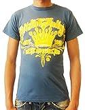 Christian Audigier - T-Shirt - Homme Bleu Ardoise XL - Bleu - 44