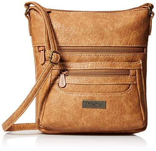 MultiSac Damen Hudson Mini Crossbody bag Umhängetasche, Camel(austin), Einheitsgröße
