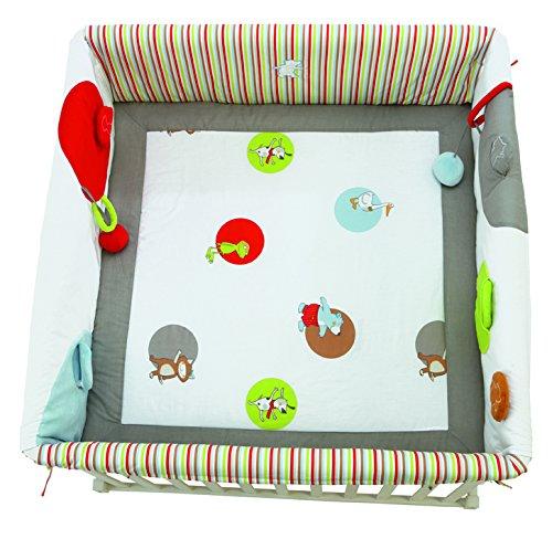 Imagen principal de roba 0272 P E2 - Revestimiento de protección para parque infantil, 100 x 100 cm