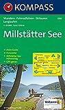 Millstätter See: Wander-, Langlauf- und Bikekarte, mit Skitouren. Mit Panorama. GPS-genau. 1:25.000 -