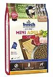 bosch HPC Mini Adult mit Lamm & Reis | Hundetrockenfutter für ausgewachsene Hunde kleiner Rassen, 1 x 3 kg