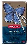 Derwent Metallic Buntstifte (in Metallbox) 12 Stück