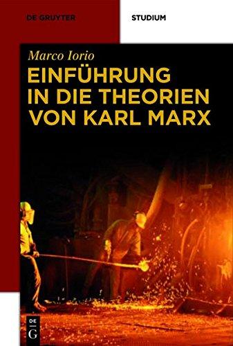 Einführung in die Theorien von Karl Marx