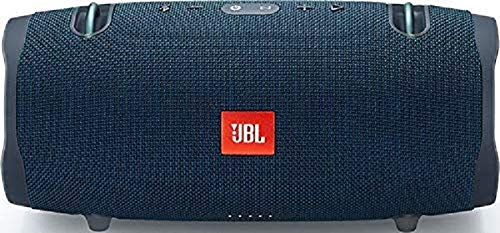 JBL Xtreme 2 Waterproof Bluetooth Speaker with Rechargeable Battery, Carry Strap Included, Blue