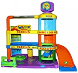 Wader Quality Toys WADER Spielzeuggarage Baby Garage Autogarage Spielzeug Parkhaus Spielgarage NEU