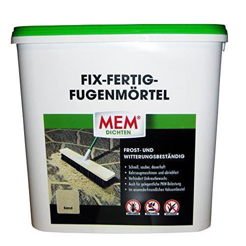 MEM Fix&Fertig Fugenmörtel, sand, keine Ameisen, keine Pfützen, kein U