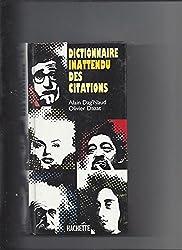Dictionnaire inattendu des citations