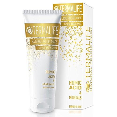 Termalife Natural Schlamm-Maske - Gesichtsmaske für Misch-Haut - Hochwertige Naturkosmetik für Gesicht und Körper - Feuchtigkeitspflege - Tube 150 g für mind. 10 Anwendungen