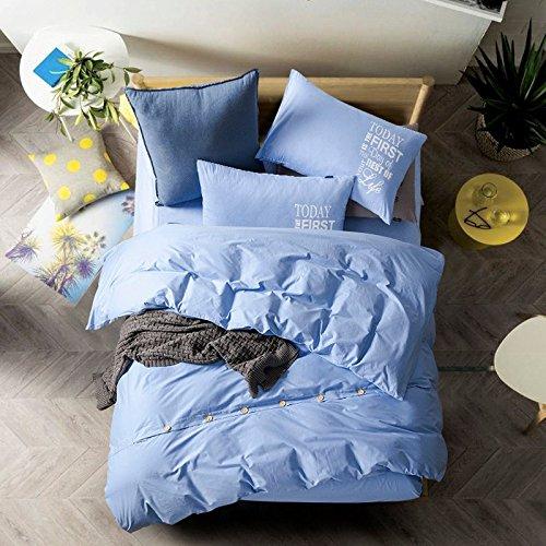 4-teiliges Set Home Textile Baumwolle Münze Kit 1,5 -1,8 m m Bettwäsche ist universal 200 * 230 cm, Jugend, 4-teiliges Set (Baumwoll-münzen-satz)
