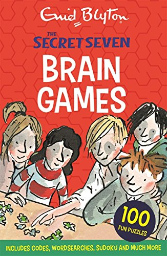 Read Secret Seven Brain Games 100 Fun Puzzles To Challenge You Online Book By Enid Blyton Full Supports All Version Of Your Device Includes PDF