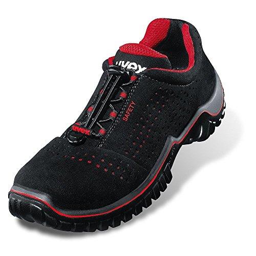 UVEX Chaussures noir sécurité de 6998848 6998 basses 8S1SRC ESD xxnZC6rR