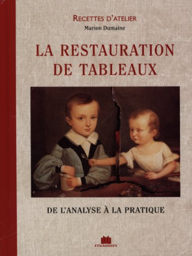 La restauration de tableaux. De l'analyse à la pratique par Marion Dumaine