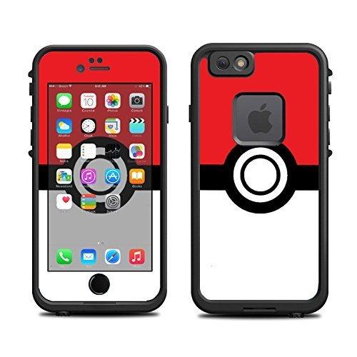 Phone 6 Case (skins/decals only) - Pokeball Pokemon Pikachu (Diy Pokeball)