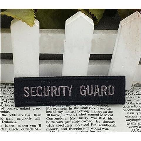 Nueva Guardia de seguridad táctico bordado 3D de la insignia Militaires Patch moral militar brazalete del cráneo tácticos