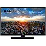 Hitachi 24HE2000 - Televisor de 24 Pulgadas, HD-Ready, Bluetooth, Wifi, USB, HDMI, LED, Negro